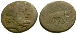 Ancient Coins - Seleukia and Pieria. Apameia Æ23 / Elephant