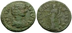 Ancient Coins - Julia Domna, Pisidia, Antioch Æ23 / Tyche