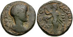 Ancient Coins - Gordian III. Decapolis. Nysa Scythopolis Æ24 / Dionysos