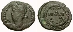 Ancient Coins - aVF/VF Julian II The Apostate Æ3 / Aquileia