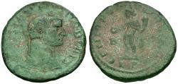 Ancient Coins - Constantius I, as Caesar (AD 293-305) Æ Follis / Genius