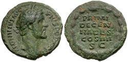 Ancient Coins - Antoninus Pius Æ AS / Wreath