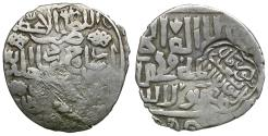 World Coins - Islamic. Timurid AR Tanka / Counterstamp