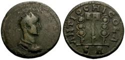 Ancient Coins - aVF/aVF Severus Alexander, Pisidia Antioch Æ23 / Vexillum and Standards