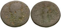 Ancient Coins - Septimius Severus (AD 193-211). Achaea. Pellene Æ Assarion