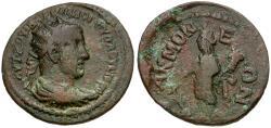 Ancient Coins - Volusian. Phrygia. Acmoneia Æ29 / Tyche