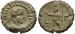 Ancient Coins - Trebonianus Gallus. Egypt. Alexandria BI Tetradrachm / Serapis