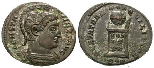 Ancient Coins - EF/EF Constantine the Great AE / Ex Langtoft Hoard