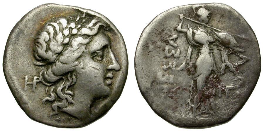 Thessaly. Thessalian League AR Double Victoriate   Athena Ionia efdf96e2f2