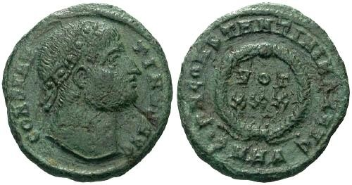 Ancient Coins - VF/aVF Constantine the Great / Eyes to God