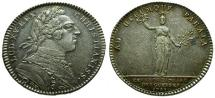 World Coins - EF/EF France, Louis XV AR Medal