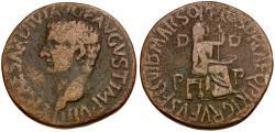 Ancient Coins - Tiberius. Zeugitania. Utica Æ30 / Livia