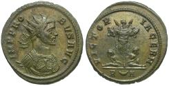 Ancient Coins - Probus (AD 276-282) Æ Antoninianus / Trophy and Captives