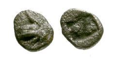 Ancient Coins - VF/VF Ionia, Phokaia AR Hemitartemorion / Griffin
