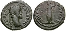 Ancient Coins - Septimius Severus. Moesia Inferior. Nikopolis ad Istrum Æ18 / Demeter