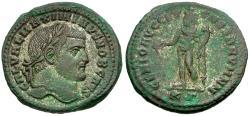 Ancient Coins - Maximinus II Daia, as Caesar (AD 305-309) Æ Follis / Genius