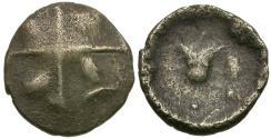 Ancient Coins - Britain. Southern Region. Regni & Atrebates. Tincomarus Bull's Head type AR minim