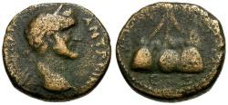 Ancient Coins - Antoninus Pius Caesarea Cappadocia Æ20 / Mt. Argaeus