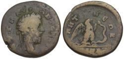 Ancient Coins - Marcus Aurelius (AD 161-180). Bithynia-Pontos. Nicomedia Æ25 / Eagle and Serpent