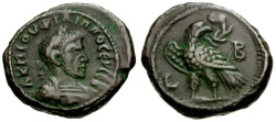 Ancient Coins - Philip I. Egypt. Alexandria Billon Tetradrachm / Eagle