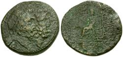 Ancient Coins - Seleucis and Pieria. Antioch Æ26 / Jugate Busts