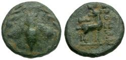 Ancient Coins - Ionia. Ephesos Æ12 / Bee