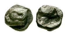 Ancient Coins - VF/VF Ionia, Phokaia AR Tetartemorion / Seal