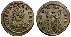 Ancient Coins - Probus Æ Antoninianus / Concordia