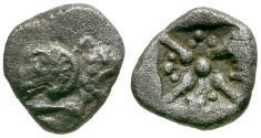 Ancient Coins - Asia Minor. Uncertain AR Obol