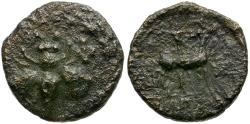 Ancient Coins - Ionia. Ephesos Æ12 / Bee