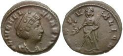 Ancient Coins - Helena (AD 324-330) Æ nummus / Pax