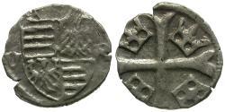 World Coins - Hungary. Sigismund AR Parvus