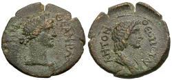 Ancient Coins - Mysia. Pergamon. Pseudo-autonomous Æ18 / Senate