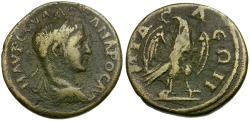 Ancient Coins - Severus Alexander. Phrygia. Midaeum Æ18 / Lindgren Plate Coin