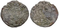 World Coins - Italy. Sicily (Regno). Enrico VI (1194-1197) BI Denaro