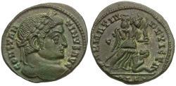 Ancient Coins - Constantine I the Great (AD 306-337) Æ3 / Sarmatia