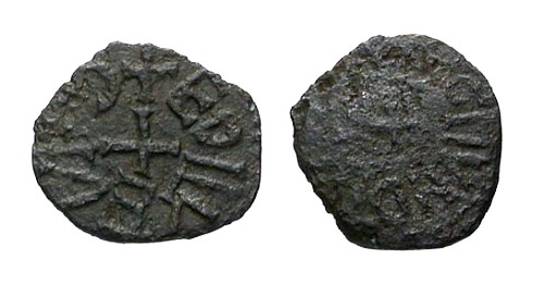 Ancient Coins - aVF/F Archbishops of York Wigmund AE Sceat / Moneyer Ethelweard