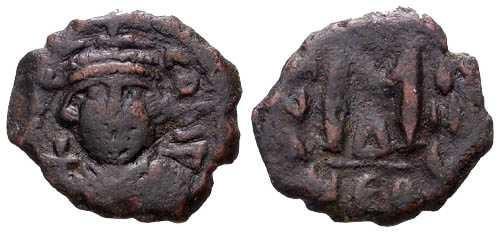 Ancient Coins - gF/gF Constans II Follis