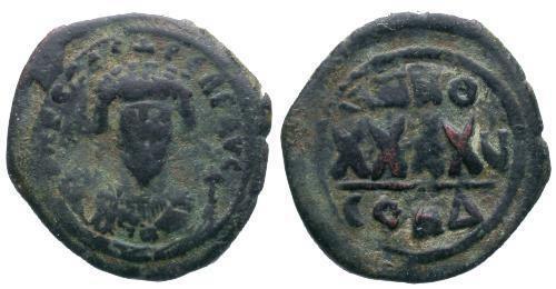 Ancient Coins - F/F Phocas Follis