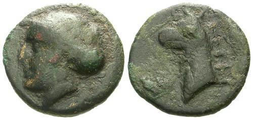 Ancient Coins - aVF/aVF Ionia  Phokaia AR / Griffin