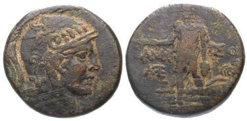 Ancient Coins - aVF/F+ Amisos Pontus AE27 Time of Mithradates VI