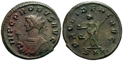 Ancient Coins - VF/VF Probus Antoninianus / Providentia