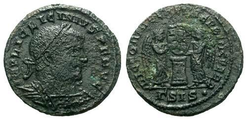 Ancient Coins - aVF/aVF Constantine the Great / Victories / Rough R5