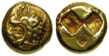 Ancient Coins - Ionia. Erythrai EL Hekte / Herakles