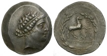 Aiolis. Kyme AR Tetradrachm / Amazon