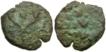 John Hyrcanus II Prutah / Hebrew