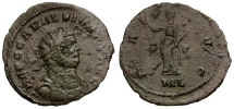 Ancient Coins - Carausius.  Usurper in Britain and Northern Gaul Æ Antoninianus / Pax