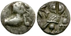 Ancient Coins - Arabia. Philistia Imitative of the types of Athens AR Hemidrachm / Owl