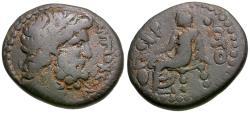 Ancient Coins - Seleucis and Pieria. Antioch. Pseudo-autonomous. Under Roman Rule Æ18 / Voting Scene