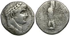 Ancient Coins - Nero. Seleucis and Pieria. Antiochia ad Orontem AR Tetradrachm
